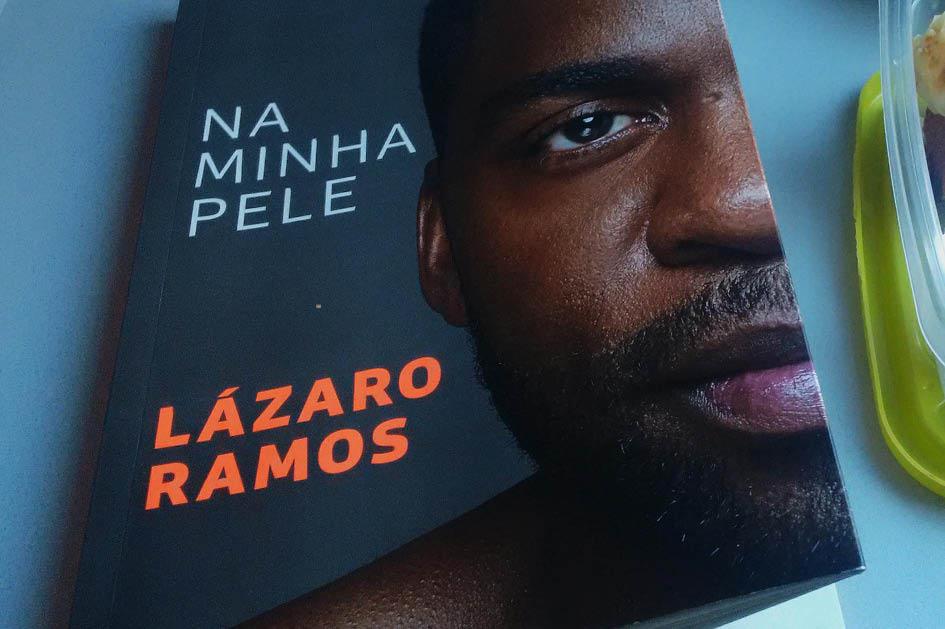 Capa do livro de Lazaro Ramos